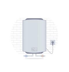 Water heater cartoon style vector