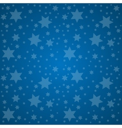 Starry sky good night concept vector