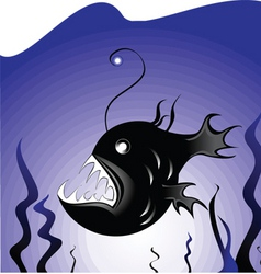 Deepsea fish vector