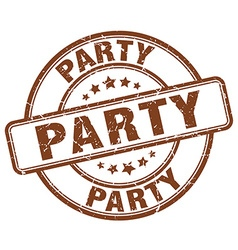 Party stamp vector