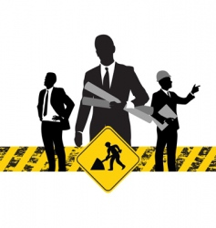 construction business vector image