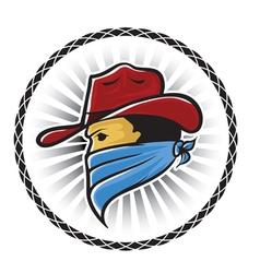 Cowboy Mascot vector image vector image