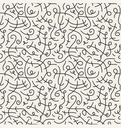 Curve seamless pattern vector