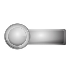 Name tag icon vector