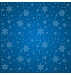 Starry sky good night concept vector