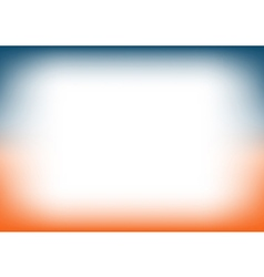 Sunset sky blue orange copyspace background vector