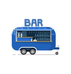 Bar outdoor cafe service icon vector