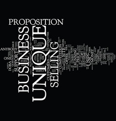 Are you unique text background word cloud concept vector