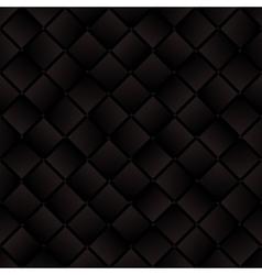 Dark brown weaved squares geometric seamless vector