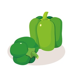 icon vegitable vector image