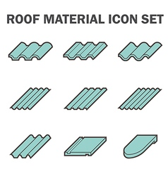 Roof tile vector image