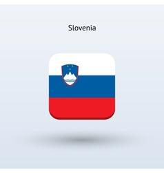 Slovenia flag icon vector