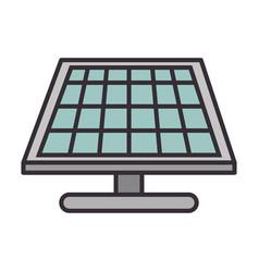 Solar panel energy vector