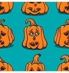 Textured pumpkins vector