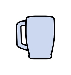 Mug drink beverage menu icon graphic vector