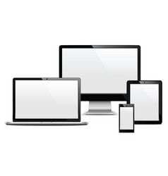 Computer Devices vector image