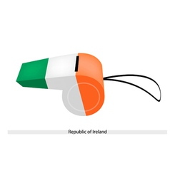 A whistle of the republic of ireland vector