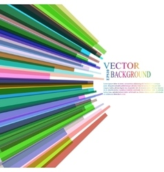 Moving colorful abstract background vector