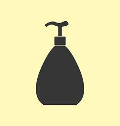 Dispenser bottle icon vector image vector image