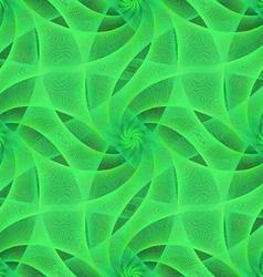 Green seamless fractal veil pattern vector image vector image