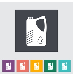 Jerrycan vector image