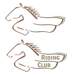 Mustang symbol vector