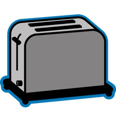 Basic toaster vector