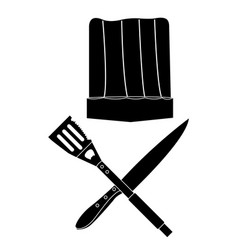 isolated barbecue objects vector image