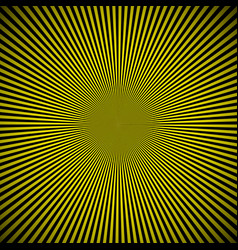 black yellow burst background vector image