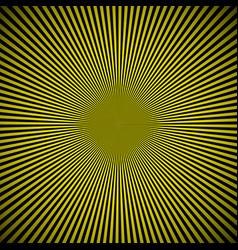 Black yellow burst background vector
