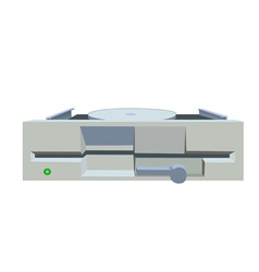 floppy drive vector image vector image