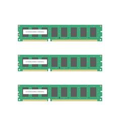 Random Access Memory vector image