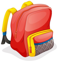 a school bag vector image
