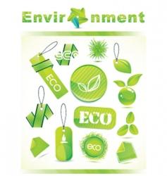 environment logos vector image