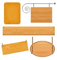 Boards set 9 vector
