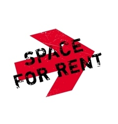 Space for rent rubber stamp vector