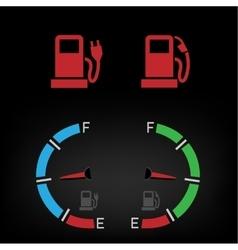 Energy fuel icon vector