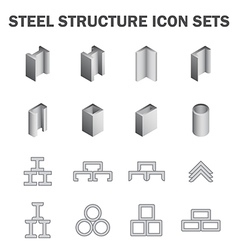 Steel structure vector