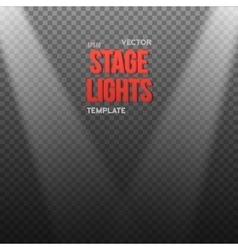Eps10 bright light effect transparent vector