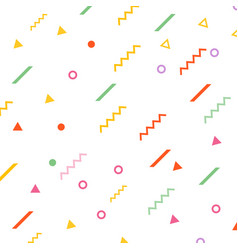 abstract geometric pattern background shapes vector image