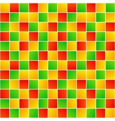 Colorful random squares simple geometric seamless vector