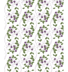 wood berries vector image