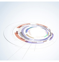 Abstract circle stage design element vector