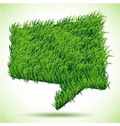 Bubble green grass texture vector