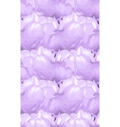 seamless background with lilac flowers vector image vector image