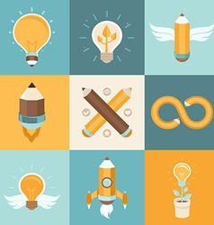 Creative ideas vector
