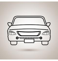Rent a car design vector