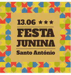 festa junina party vector image