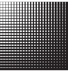 Line halftone pattern vector