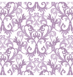 Damask baroque pattern vector